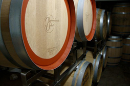 Conneaut Cellars Winery's wines aging in Pennsylvania Oak Barrels.