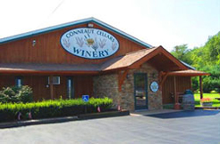 Conneaut Cellars Winery building located at 12005 Conneaut Lake Road in Conneaut Lake, PA.