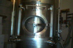 Conneaut Cellars Distillery's Brandy still is shown.